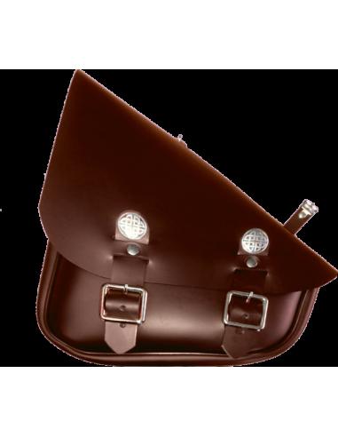 Custom saddlebag for swingarm. Celtic...